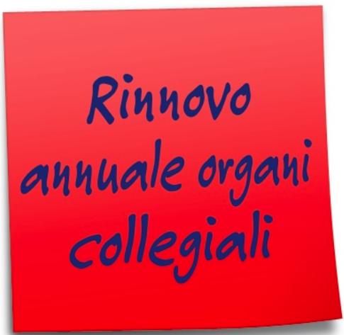 Elezioni degli organi collegiali a livello di istituzione scolastica per l'a.s. 2020/21.