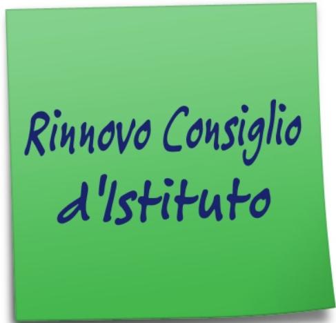 Elezioni per il rinnovo del Consiglio d'Istituto.