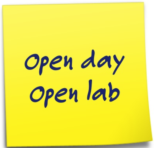 Open day, open lab.