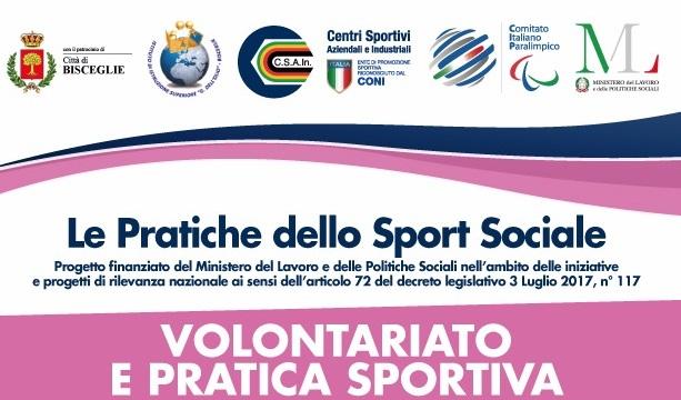 """""""Volontariato e pratica sportiva"""" – venerdì 13 dicembre 2019."""
