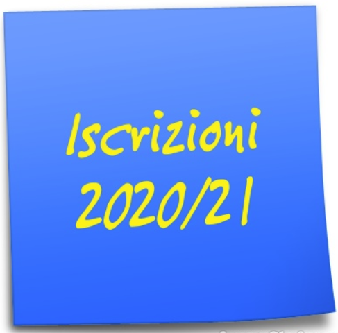 Iscrizioni per l'a.s. 2020/21.