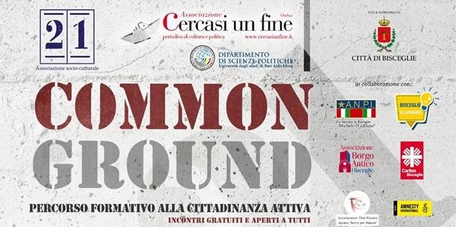 """""""Common ground"""" - percorso di formazione alla cittadinanza attiva."""
