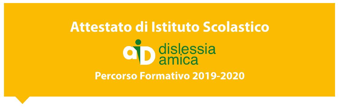 """Scuola Dislessia Amica""""."""