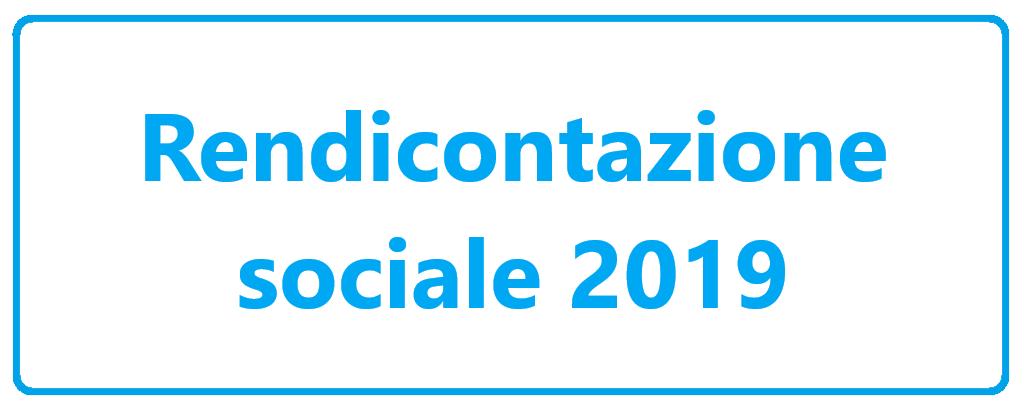 Rendicontazione sociale 2019