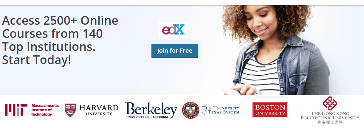 Edx - access 2500+ Online Courses from 140 Top Institutions. Start Today!