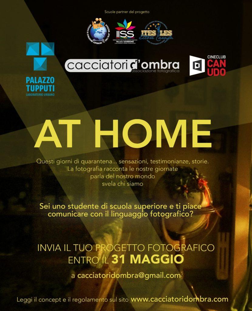 """Concorso fotografico """"At home"""" - Associazione """"Cacciatori d'ombra""""."""
