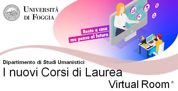 Università degli Studi di Foggia - giornate di orientamento nuovi corsi di laurea 22, 26 e 29 maggio 2020.